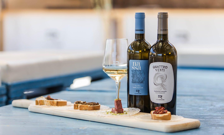 degustazioni vini siciliani in cantina a Marzamemi (SR)