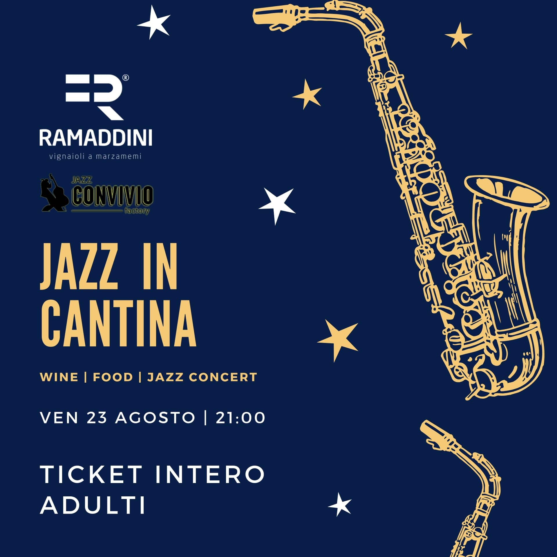 serata jazz marzamemi 23 agosto ticket