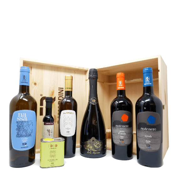 afrodite cassetta vini regalo