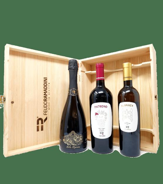 tura cassetta vini regalo