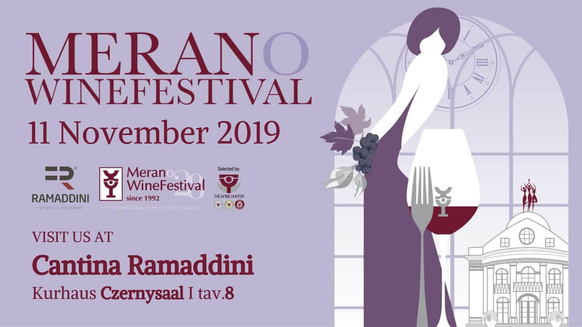 Andremo al Merano Wine Festival!